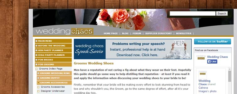 wedding chaos